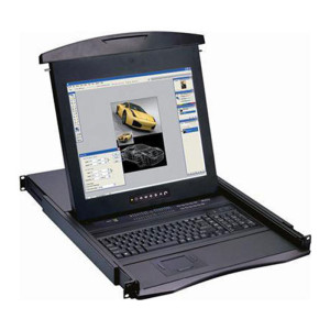 1U LCD Console Drawer