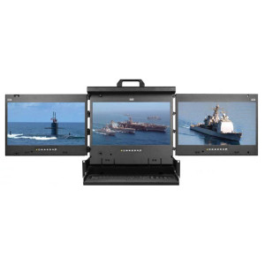 MRK 2U Multi-display Console Drawer