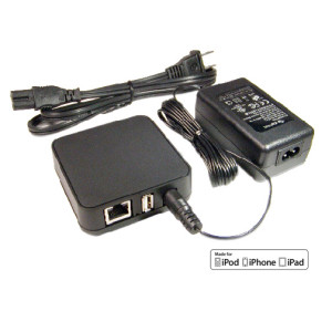 Lightning Ethernet+Power Adapter (L4-NETP)